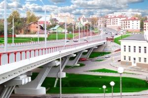 Могилев мост через р Дубравенка для открытки