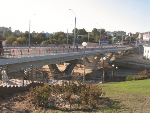река дубровенка, г могилев, мост